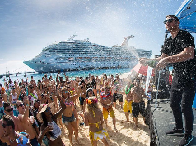 Spring party cancun hotels break THE 10